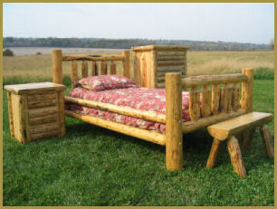 Log Beds Bedroom Furniture Home Accents By Timber Creek Furniture